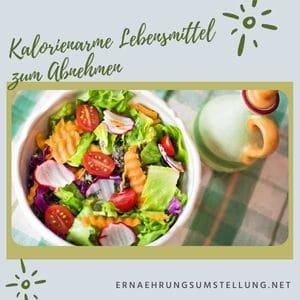 Schlanke Frau | Kalorienarme Lebensmittel zum Abnehmen